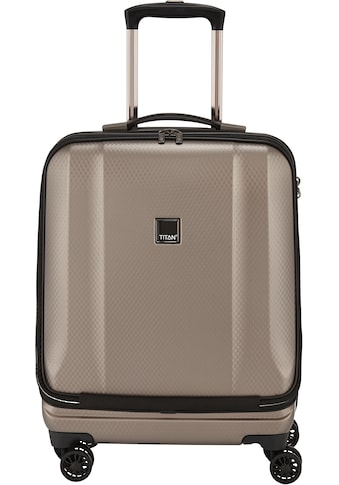 "TITAN® Business - Trolley ""Xenon Deluxe, 55 cm, Champagne"", 4 Rollen kaufen"