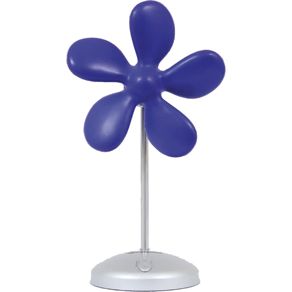 Sonnenkönig Tischventilator »Flower Fan blau«