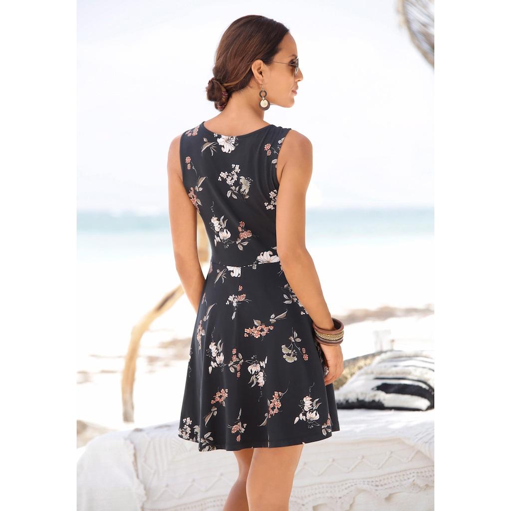 Beachtime Strandkleid, mit Blumenprint