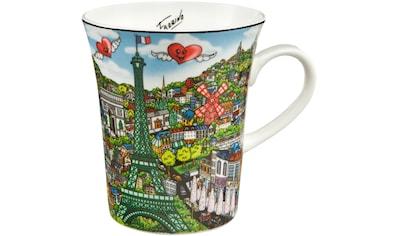 Goebel Becher »Come Visit Me in Paris«, von Charles Fazzino kaufen
