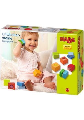 """Haba Spielbausteine """"Entdeckersteine Klangspaß"""", Holz, (6 - tlg.) kaufen"""