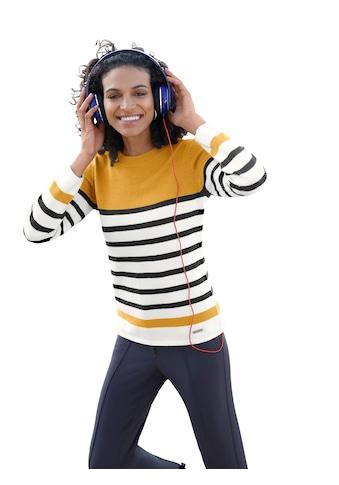 Casual Looks Pullover im Ringeldessin kaufen