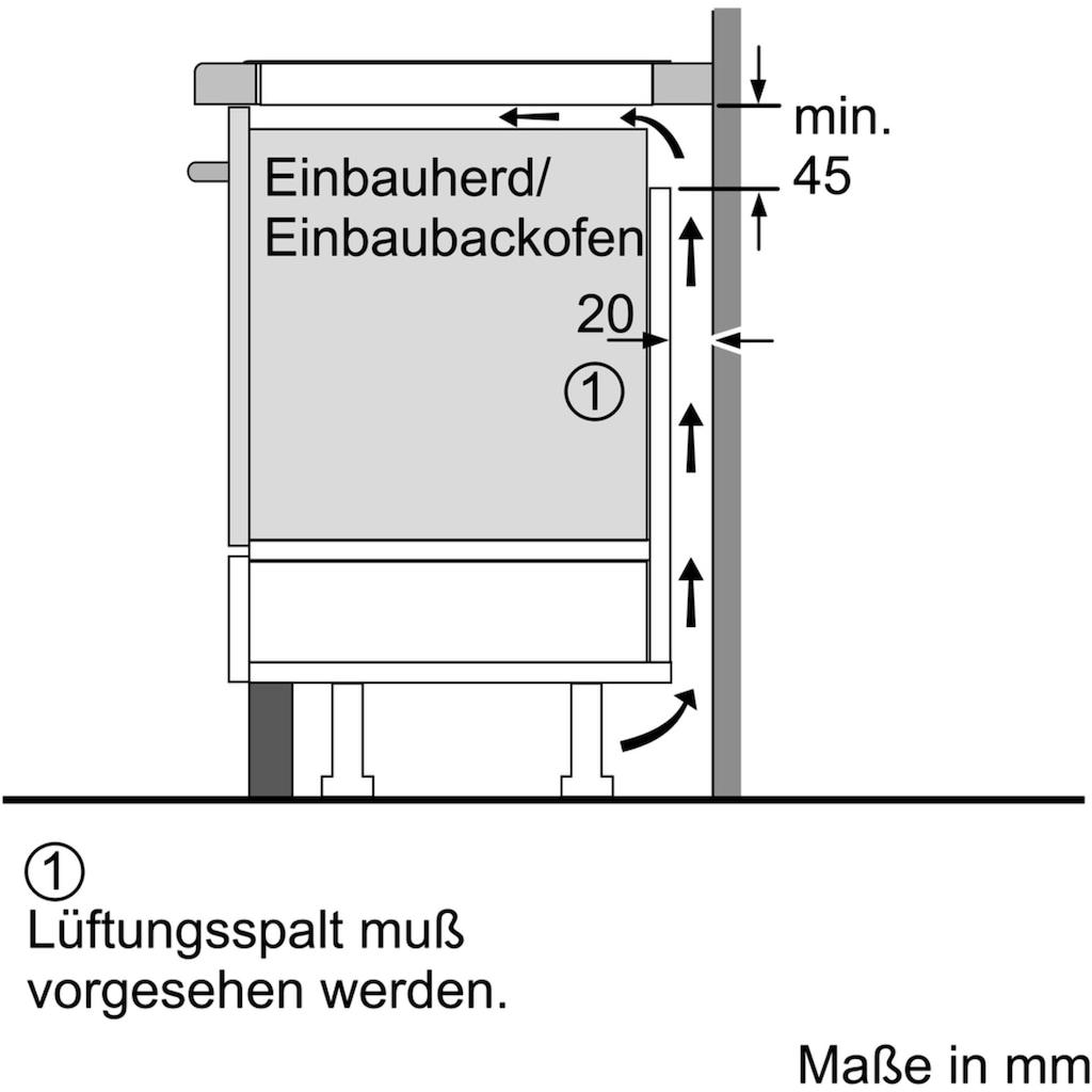 BOSCH Backofen-Set »HBD236VR60«, HBF133BR0, mit Teleskopauszug nachrüstbar, ecoClean Direct