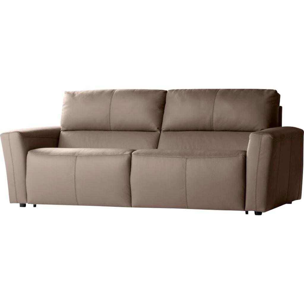 CALIA ITALIA Sofa »BULGARY«, Breite 189 cm,wahlweise mit aufklappbare Bettfunktion