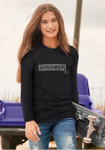 Arizona Stehkragenshirt »DREAMER«, in kurzer figurbetonter Form kaufen