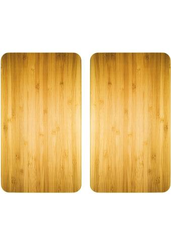WENKO Herd-Abdeckplatte »Universal Holz-Optik«, (Set, 2 tlg.) kaufen
