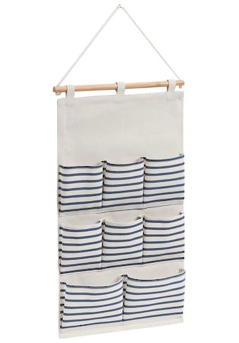 Zeller Present Hängeaufbewahrung »Stripes«, BxT: 35x58,5 cm, mit 8 Fächern kaufen