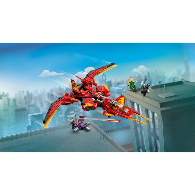 "LEGO® Konstruktionsspielsteine ""Kais Super-Jet (71704), LEGO® NINJAGO®"", Kunststoff, (513-tlg.)"