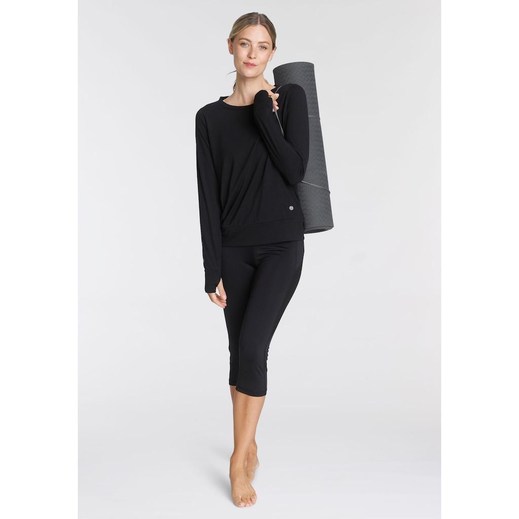 Ocean Sportswear Langarmshirt »Soulwear - Yoga & Relax Shirt - Loose Fit«, mit Daumenlöchern