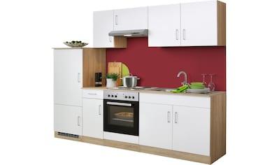 HELD MÖBEL Küchenzeile »Melbourne«, mit E - Geräten, Breite 260 cm kaufen