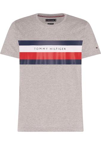 TOMMY HILFIGER T - Shirt »TOMMY HILFIGER STRIPE TEE« kaufen