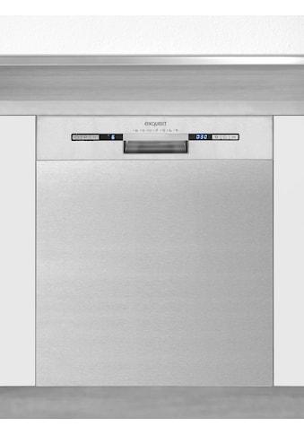 exquisit vollintegrierbarer Geschirrspüler »EGSP9313-EF-030E inox«, EGSP9313-EF-030E... kaufen