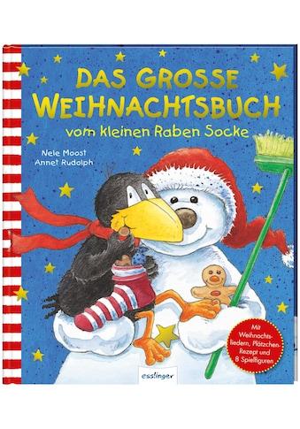 Buch »Der kleine Rabe Socke: Das große Weihnachtsbuch vom kleinen Raben Socke / Nele... kaufen