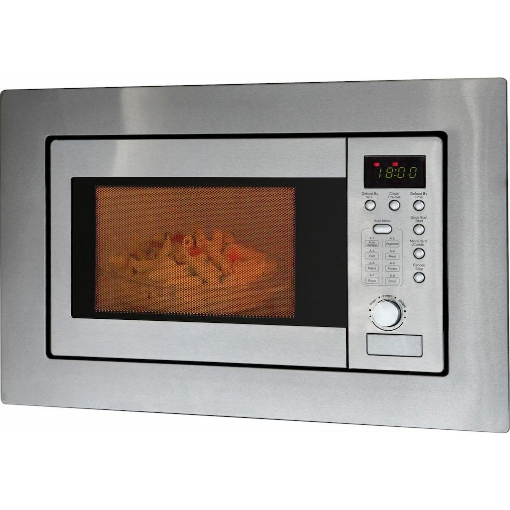 BOMANN Einbau-Mikrowelle »MWG 2215 EB«, Mikrowelle-Grill, 1250 W