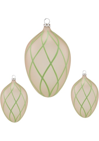 Thüringer Glasdesign Osterei »Rautennetz«, mundgeblasen, handdekoriert kaufen