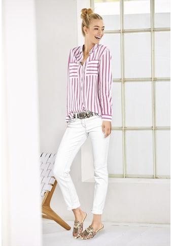 Bauchweg - Jeans Alwa mit Kontrast - Stitching kaufen