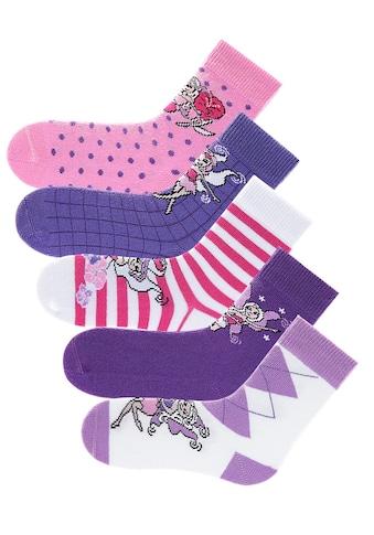 Go in Socken, (5 Paar), in 5 farbenfrohen Designs kaufen