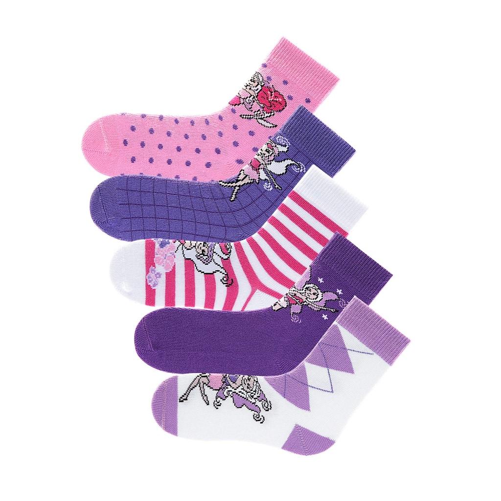 H.I.S Socken, (5 Paar), in 5 farbenfrohen Designs