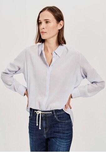 OPUS Klassische Bluse »Forela«, mit feiner 3D-Struktur kaufen