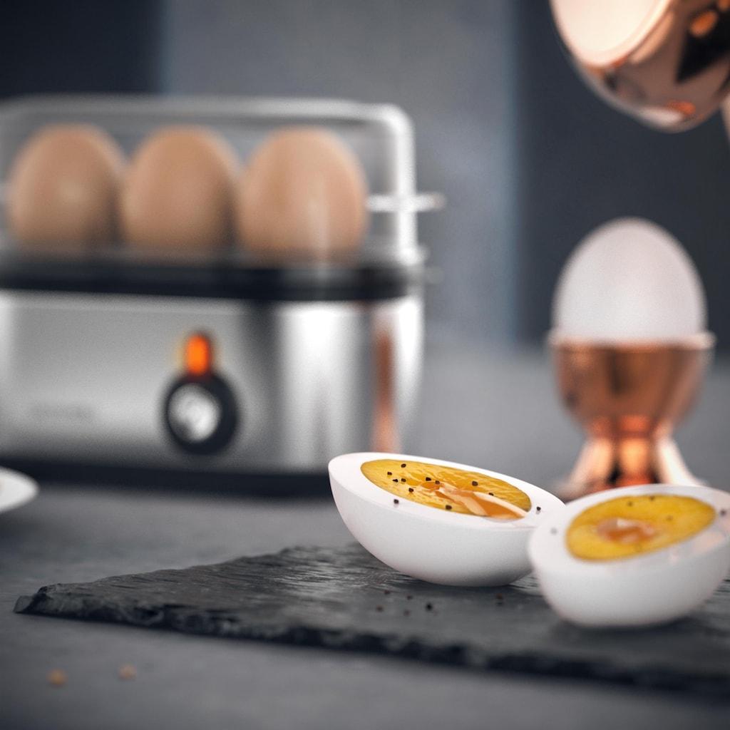 Arendo Edelstahl Eierkocher für 1-3 Eier »Threecook«