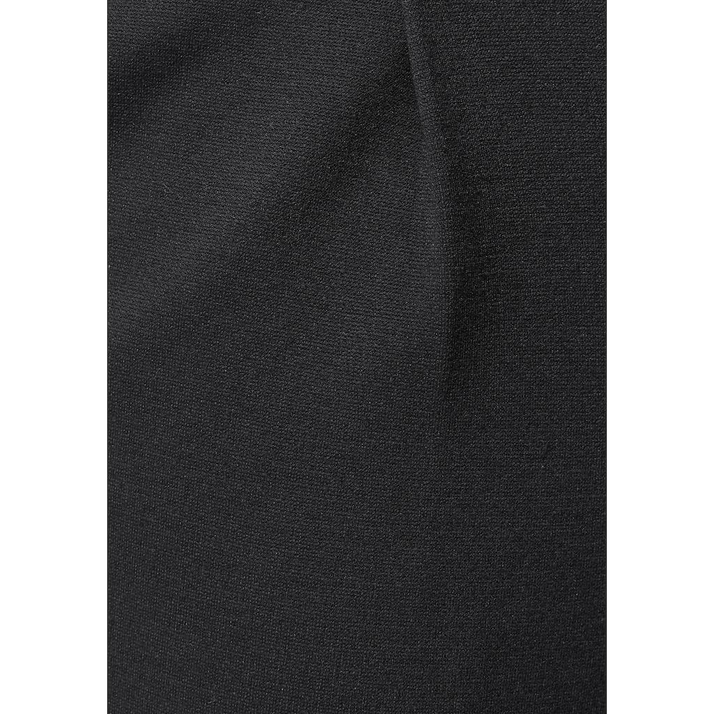 AJC Jogger Pants, mit Nadelstreifen, uni oder meliert