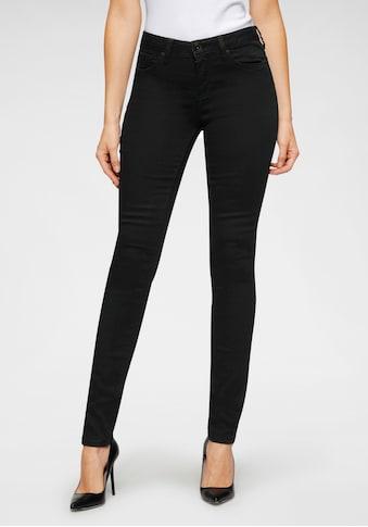 H.I.S Skinny-fit-Jeans »mid waist«, Nachhaltige, wassersparende Produktion durch OZON WASH kaufen