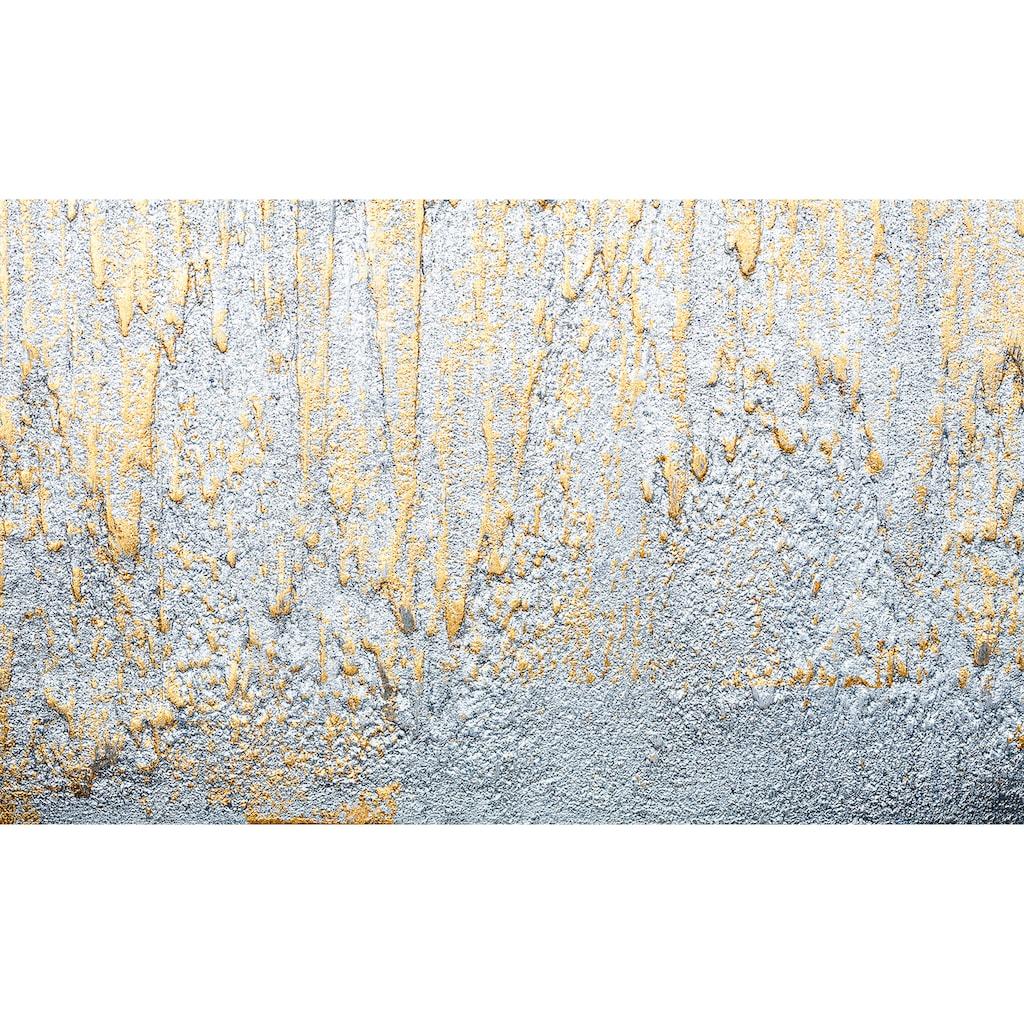 Consalnet Vliestapete »Goldene Kleckse«, geometrisch