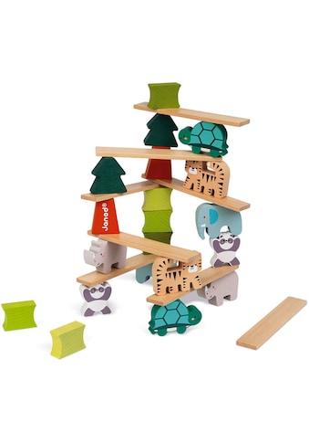 Janod Stapelspielzeug »WWF® Stapel- & Geschicklichkeitsspiel - Tiere & Bäume«,... kaufen