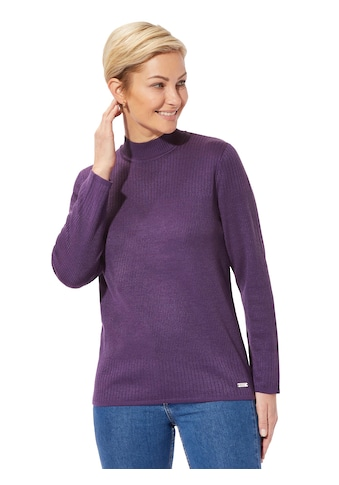 Casual Looks Pullover mit verschieden gestaltete Ripp - Partien kaufen