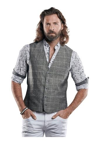 emilio adani Sakkoweste aus leichtem Baumwoll-Leinen-Gemisch kaufen