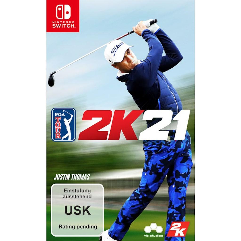 2K Spiel »PGA TOUR 2K21«, Nintendo Switch