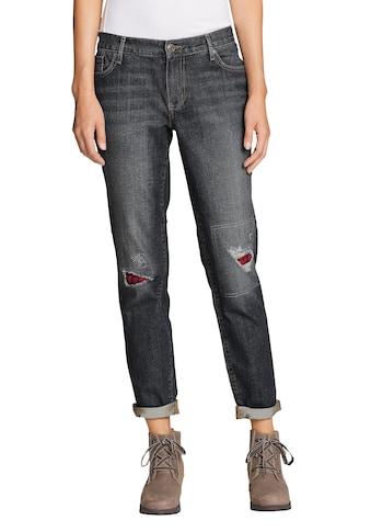 Eddie Bauer Boyfriend-Jeans, Boyfriend mit Flanellpatch kaufen