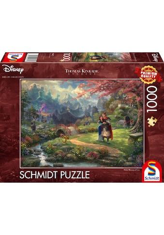 """Schmidt Spiele Puzzle """"Disney, Mulan  -  Thomas Kinkade"""" kaufen"""