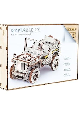Wooden City Modellbausatz »Jeep 4x4«, aus Holz; Made in Europe kaufen