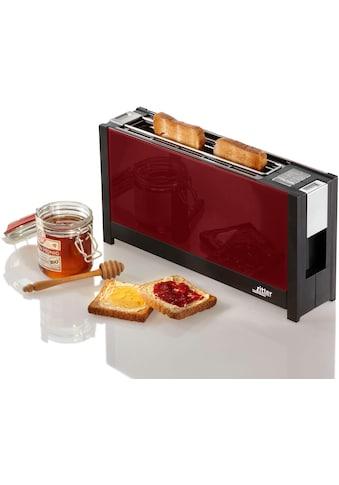 Ritter Toaster »volcano 5 rot«, für 2 Scheiben, 950 Watt kaufen