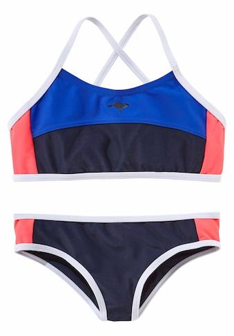 KangaROOS Bustier-Bikini, im sportlichen Look kaufen