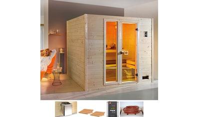 weka Sauna »Lars Trend 3 Bio«, 7,5 kW Bio-Kombiofen mit ext. Steuerung kaufen