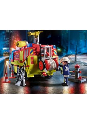 Playmobil® Konstruktions-Spielset »Feuerwehreinsatz mit Löschfahrzeug (70557), City... kaufen