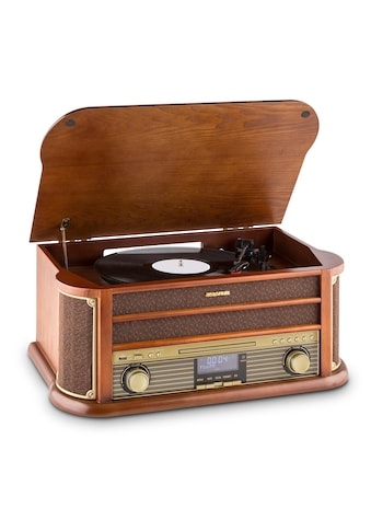 Auna DAB Retro Stereoanlage Plattenspieler DAB USC CD MP3 Vinyl »Belle Epoque DAB« kaufen