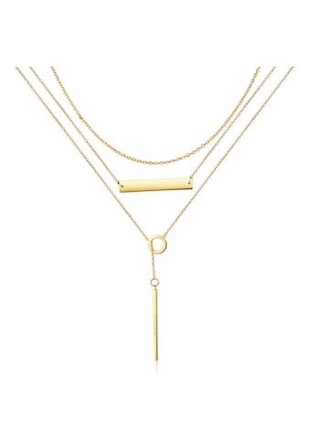 AILORIA Kette mit Anhänger »ARIELLE Halskette Gold«, Hochglanz-Finish kaufen