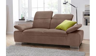 DOMO collection 2-Sitzer, mit Rückenverstellung und Federkern kaufen