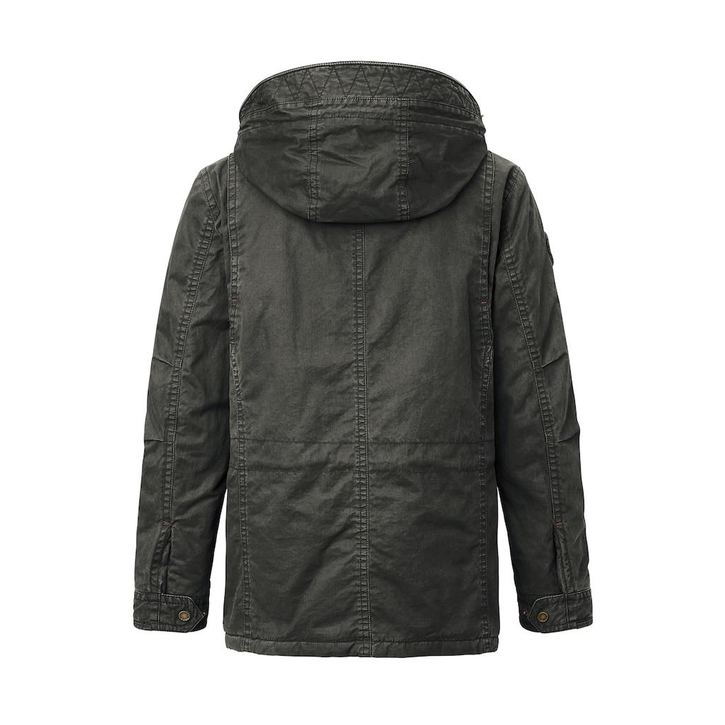 Redpoint Winterjacke »Karlton«, Herren Baumwoll Field Jacket