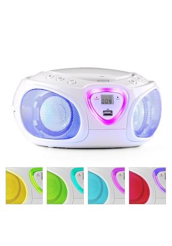 Auna Boombox CD USB MP3 MW/UKW-Radio Bluetooth 2.1 LED kaufen