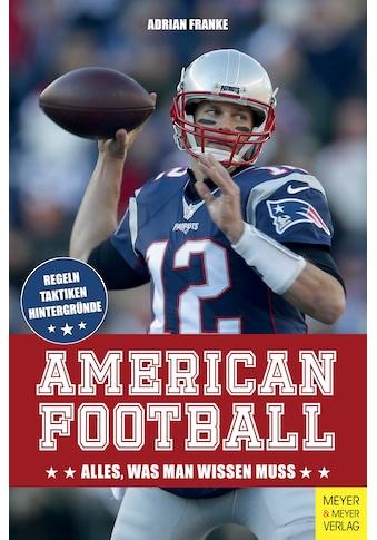 Buch »American Football / Adrian Franke« kaufen