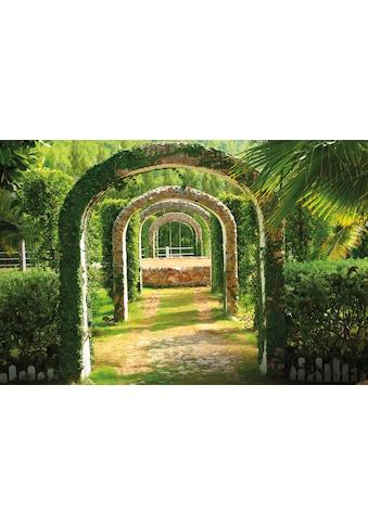 PAPERMOON Fototapete »Pergola Garden«, Vlies, in verschiedenen Größen kaufen
