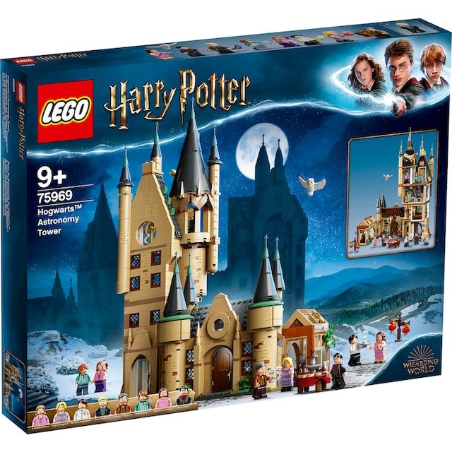 "LEGO® Konstruktionsspielsteine ""Astronomieturm auf Schloss Hogwarts™ (75969), LEGO® Harry Potter™"", Kunststoff, (971-tlg.)"
