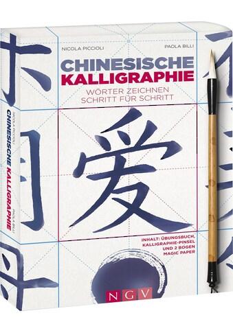 Buch »Chinesische Kalligraphie - Set mit Buch, Pinsel und Magic-Paper / Nicola... kaufen