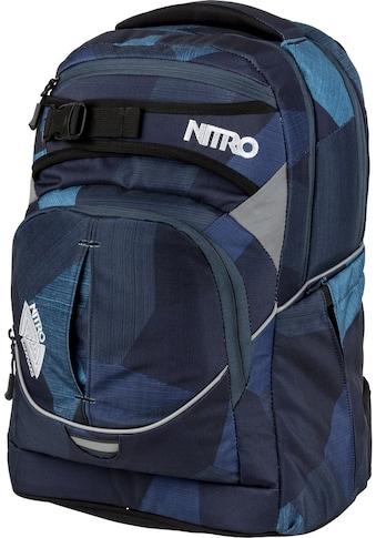 NITRO Schulrucksack »Superhero Fragments Blue« kaufen