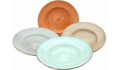 CreaTable Pastateller »VINTAGE NATURE«, (Set, 4 St.), Porzellan kaufen