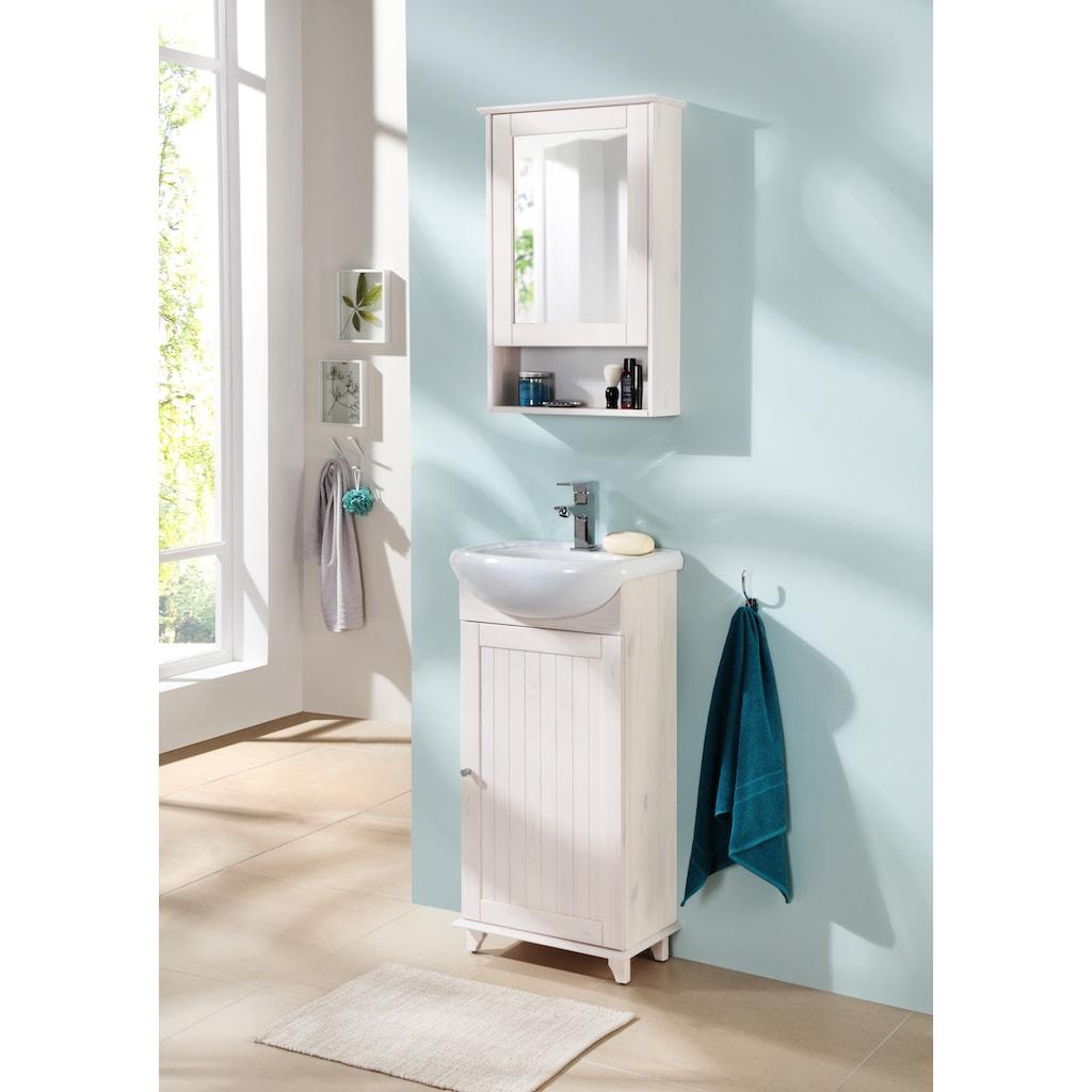 welltime Spiegelschrank »Venezia Landhaus«, Breite 42 cm, mit Spiegeltüren